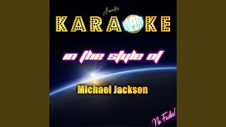 The Way You Make Me Feel In The Style Of Michael Jackson Karaoke Version