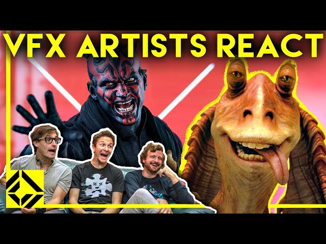 VFX Artists React to THE PREQUELS Bad & Great CGi thumbnail