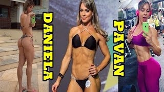 Daniela Pavan -Brazilian IFBB Wellness Athlete / Full Workout & All Exercises