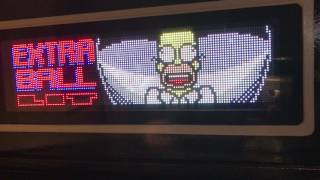 PIN2DMD color LED DMD in a Stern Simpsons Pinball Party