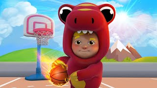 BasketBall Song   Sharing Song   Kids Karaoke Songs and Dance - One Zeez