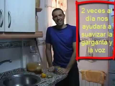 Gárgaras de miel y limón. Remedio para dolor de garganta