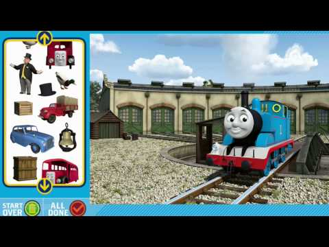 Thomas And Friends Full Episodes Of Steam Team Snapshots Game - The Tank Engine Train Walkthrough - 3d Cartoon For Kids (new 2014 Games By Pbskids) Hd 1080p English video