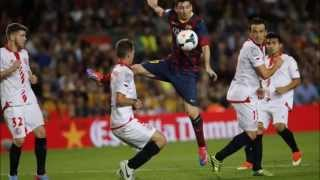 Barcelona- Sevilla 5 -4 Super Cup Goals highlight !!