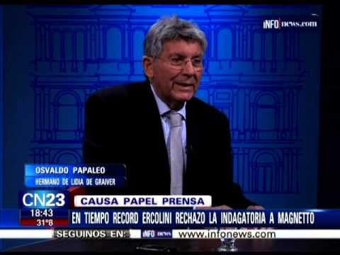 OSVALDO PAPALEO EN CRIATURAS SALVAJES 12-03-2015