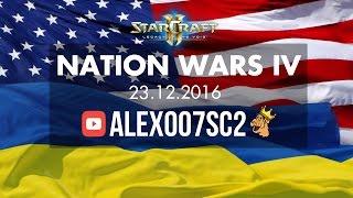Nation Wars Ro16 - США vs Украина RE - StarCraft 2 LotV