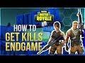 HOW TO WIN   Get Kills Endgame (Fortnite Battle Royale)