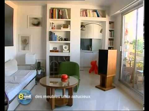 comment optimiser l 39 espace d 39 un petit logement d 39 habitation youtube. Black Bedroom Furniture Sets. Home Design Ideas