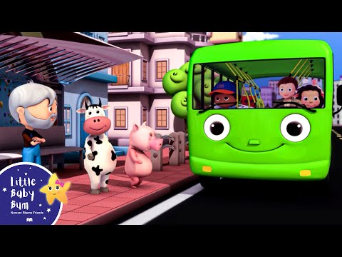 Wheels On The Bus | Part 3 | Nursery Rhymes | Hd Version From Littlebabybum video