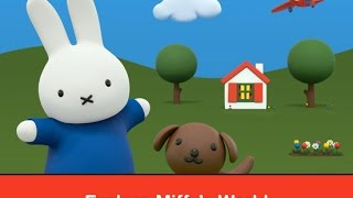 Miffy's World - iPad app demo for kids - Ellie