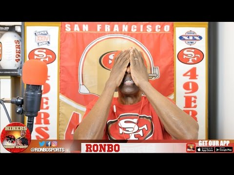 Ronbo Sports In Yo Face, At Yo Place Watching The Game! 49ers VS Buccaneers 2016 Week 7 NFL