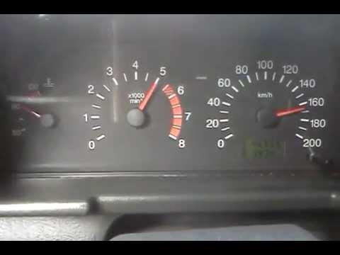 ВАЗ 2112 Разгон до максимальной скорости - YouTube