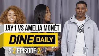 JAY1 vs Amelia Monét - Dine Daily [S2:E2]   GRM Daily