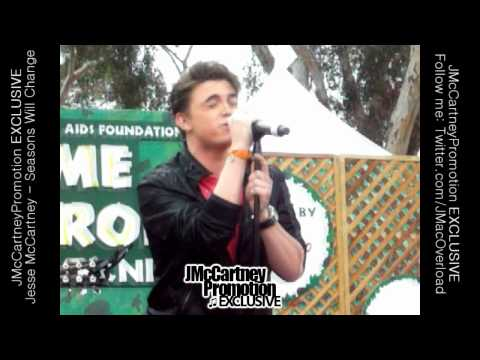 Jesse McCartney - LIVE - Seasons Will Change (New Song) - 6/13/10 [HQ] [w/lyrics]
