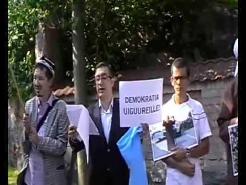 Press Release for Eastern Turkestan in Helsinki