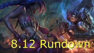 League of Legends Patch 8.12 Rundown