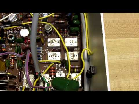 Heathkit HW-8 Ham Radio Modification - Hear Weak Signals Better (by WDØAKX)