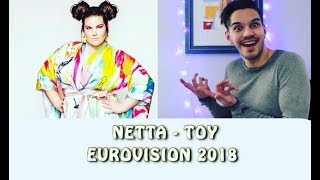 EUROVISION 2018 ISRAEL: Netta - Toy (REACTION) | Berni Sounds