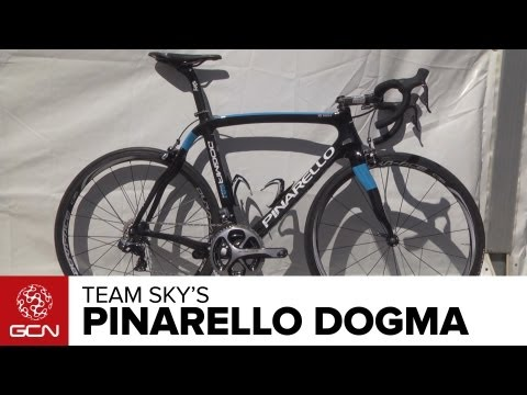 Bradley Wiggins' Team Sky Pinarello Dogma 65.1 - Pro Bike
