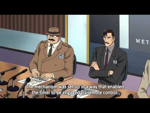 Detective Conan  Movie 15 - Quarter Of Silence Part 1 video