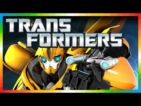 Transformers Prime - Optimus Prime - Only Kids Movie From Television Series Game (mini Movies) video