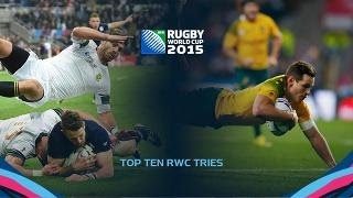 TOP 10 Rugby World Cup 2015 tries - part 1