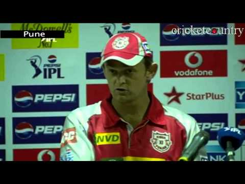 IPL 2013: Kings XI Punjab post match press conference