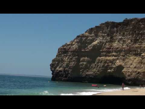 Carvoeiro Beach - Algarve - Portugal - Amazing place - HD