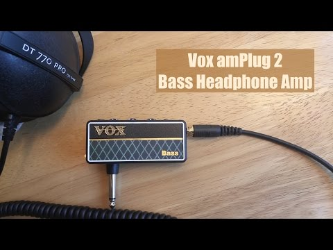 VOX AmPlug 2 - Bass Headphone Mini Amp (4K)