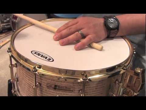 Revelation drums 6.5x14 snare demo.mov