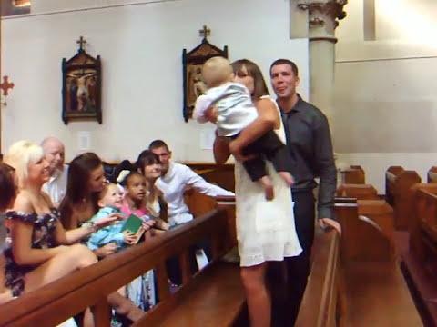 Jayden-James Thomas Allsopp's Christening 23.5.10 Part 1