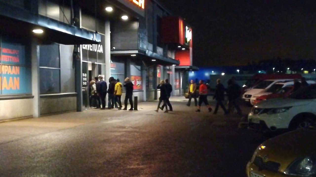The Madness Of Black Friday In Finland