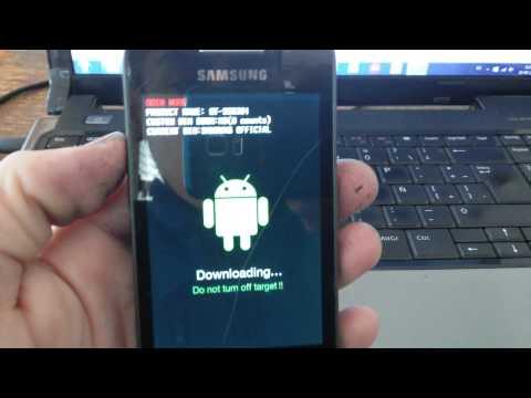 reparar inicio samsung galaxy ace s5830m error de firmware