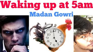 7 Steps to wake up at 5 AM | Tamil | Madan Gowri | MG | How to wake up Early