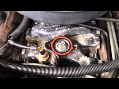 Da 89 chevy caprice is back replaced thermostat and fixed exhaust leak mp4