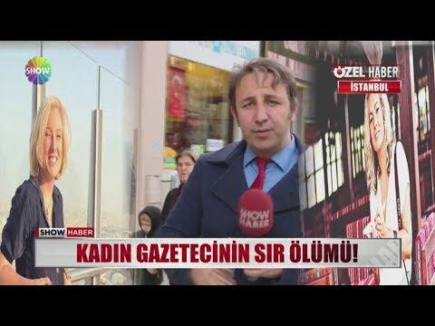 Kadın Gazetecinin sır ölümü!