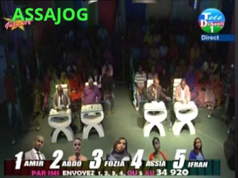 Djibouti: Jeunes Talents2 la premiere finale part1  09/10/2014