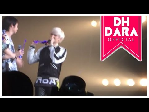 [DH&DARA] [ENG. SUB.] DONGHAE MENTION 2NE1 DARA IN PUBLIC (PART 1)