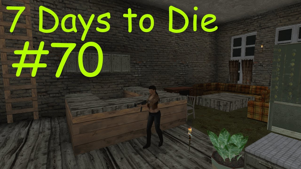 7 days to die 70 alpha 6 4 b1 youtube. Black Bedroom Furniture Sets. Home Design Ideas