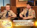 12-Year-Old Boy Scouts Offer To Give Breast Exams Video