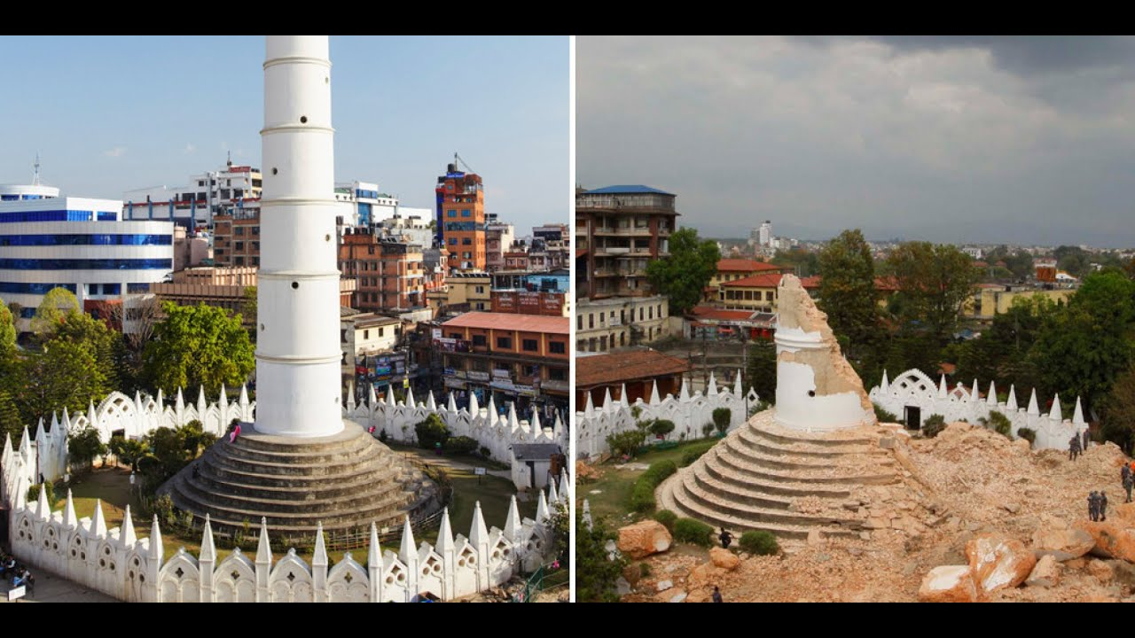 Nepal Pictures Before And After Earthquake Nepal 10 Pictures Before And