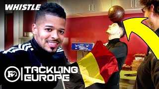CHOCOLATE Soccer Ball Freestyle?! | The F2 Trick Shots