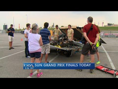 Solar Powered Car Race
