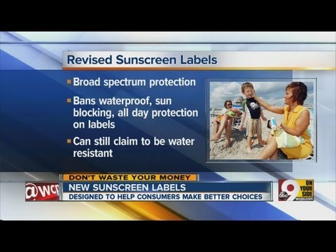 DWYM: New sunscreen labels designed to help consumers
