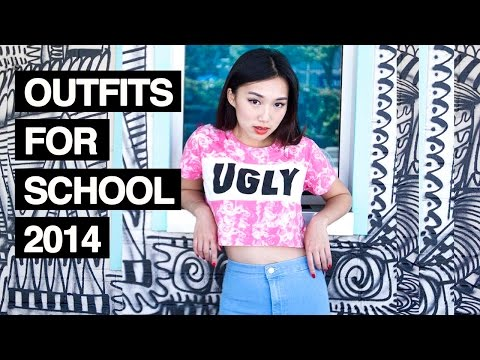 Outfits for School Lookbook ft. Backroom + Easy Snacks!
