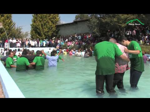 BAUTIZOS EN TIERRA PROMETIDA EL NOGAL 2011