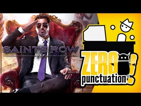 SAINTS ROW 4 (Zero Punctuation)
