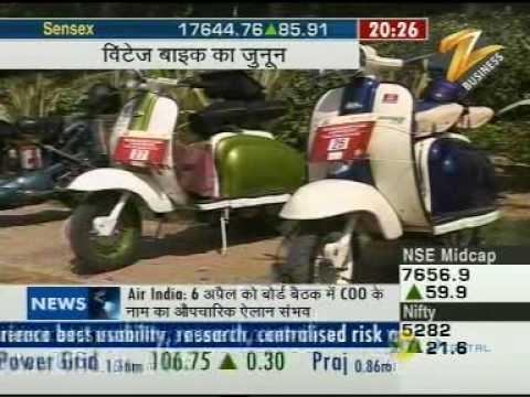 The Third Brandsmith Vintage Bike Drive on Zee Business