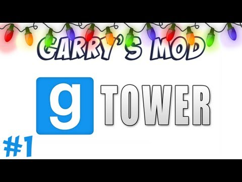 GMod Tower Part 1 - Super Monkey Ball