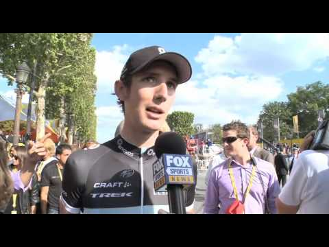 Stage 21 - Andy Schleck 2011 Tour de France